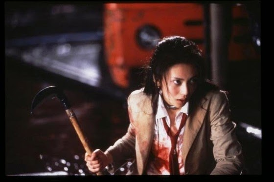 Mitsuko Sôma in Battle Royale