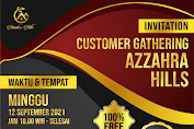 Customer Gathering Azzahra Hills Tahap 2, Gratisss!!!