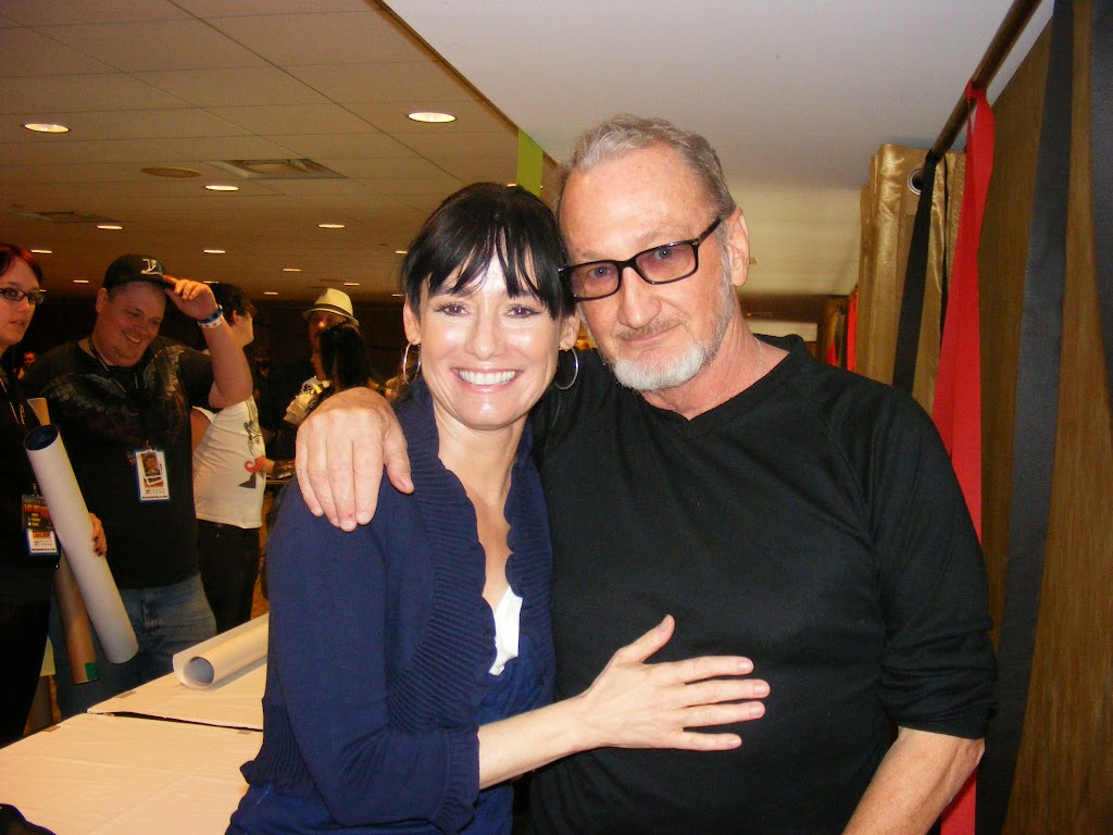 At a reunion with my leading lady the beautiful Jill Schoelen, the Christine from my PHANTOM OF THE OPERA.