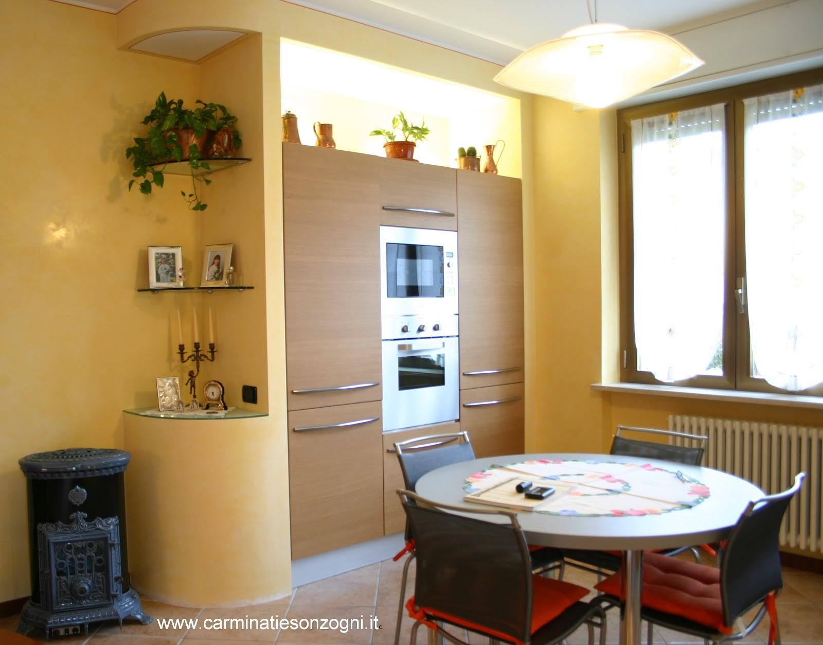 foto cucina Skyline Snaidero realizzata in provincia di Bergamo, Lo0mbardia, zona colonne jpg.jpg