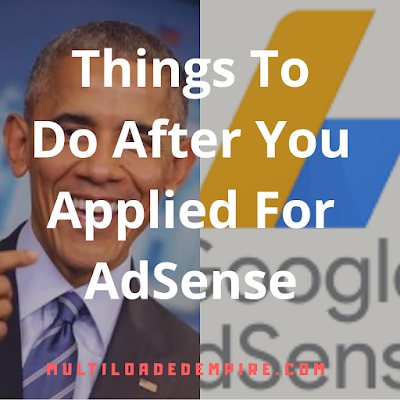 How obama applied for google AdSense