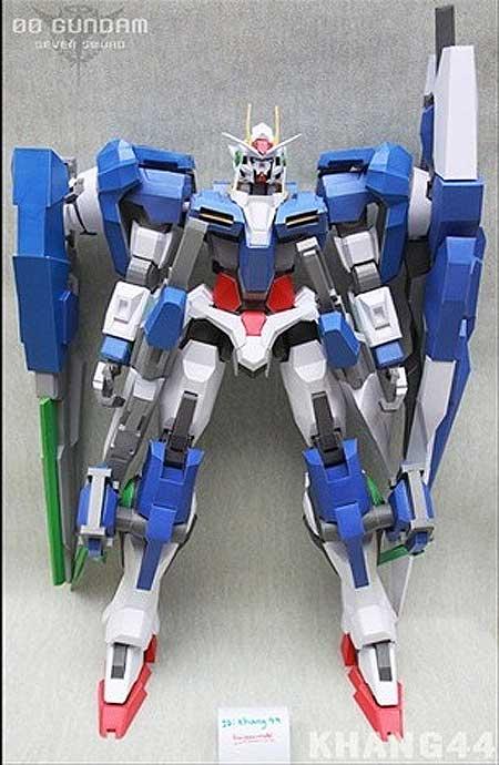 GNT 0000 QanT Full Saber Gundam Papercraft