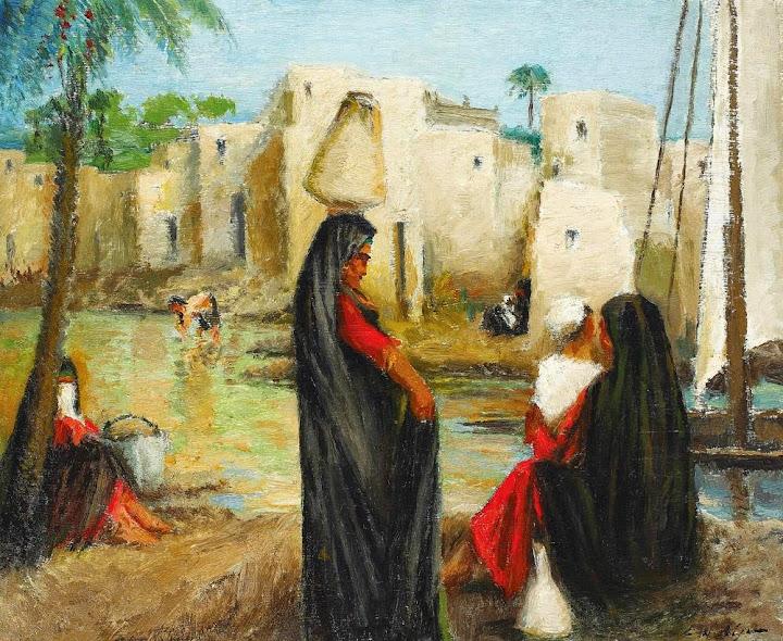 Leon Biju - Scenă din Egipt