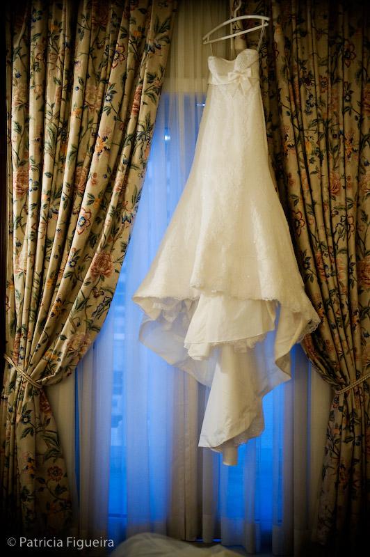 Foto de casamento 0031 de Luciene e Rodrigo. Marcações: 11/09/2009, Casamento Luciene e Rodrigo, Fotos de Vestido, La Novia, Rio de Janeiro, Vestido, Vestido de Noiva.