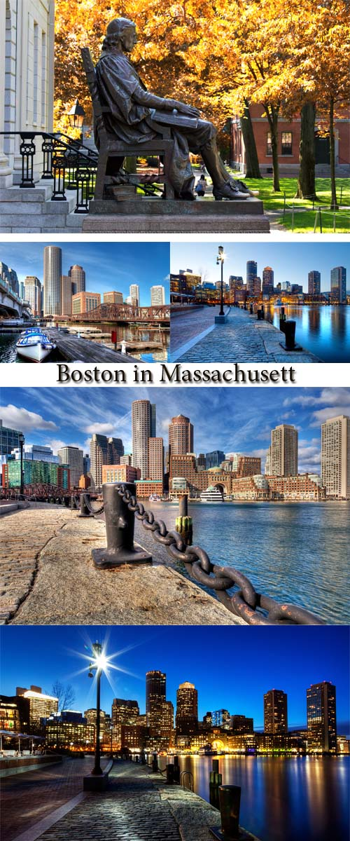 Stock Photo: Boston in Massachusett