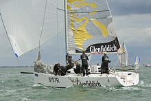 J/97 sailing Cowes Week