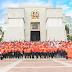 Defensa Civil deposita ofrenda floral por el 174 aniversario de la independencia nacional