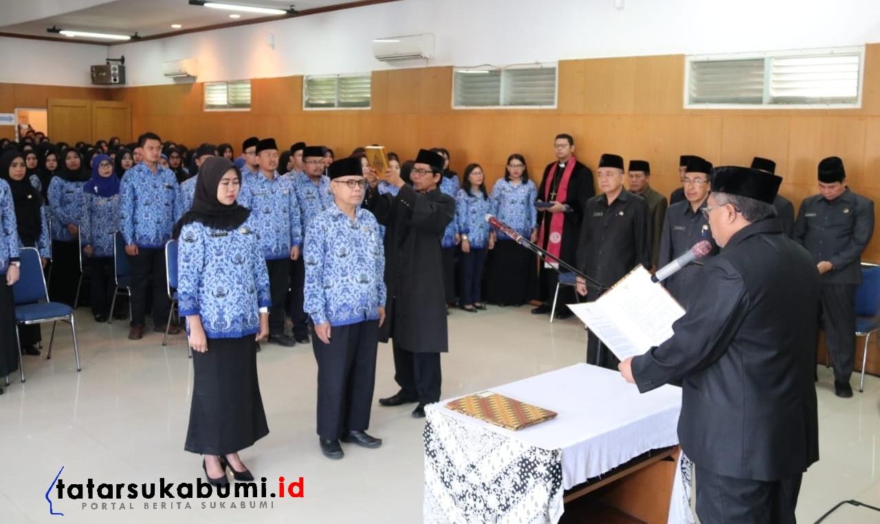 Marwan Hamami Minta Tenaga Fungsional Pemkab Sukabumi Jadi Pelayan Masyarakat