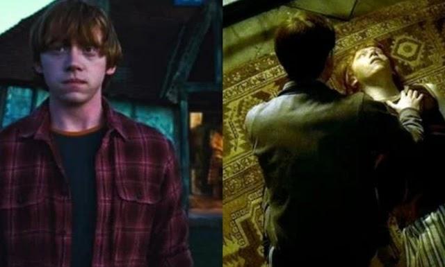 Harry Potter: nove vezes que Rony Weasley teve a sorte de sobreviver