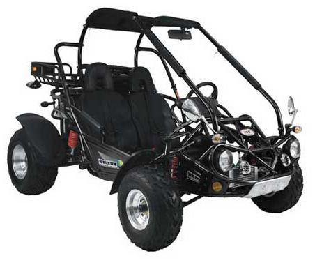 Black 300cc Twister Hammerhead XRX Trailmaster Dune Buggy