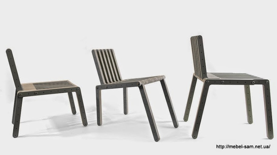 Различные способы сборки фанерного стула