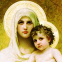 Virgin Mary of the Roses LWP icon