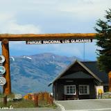 Outra entrada do Parque Nacional Los Glaciares -  El Calafate, Argentina