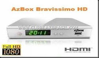 AZBOX BRAVISSIMO TWIN HD EM MEGABOX MG3000 HD