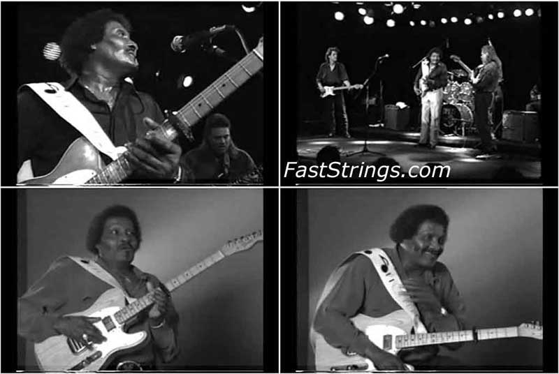 Albert Collins - Instructional Video