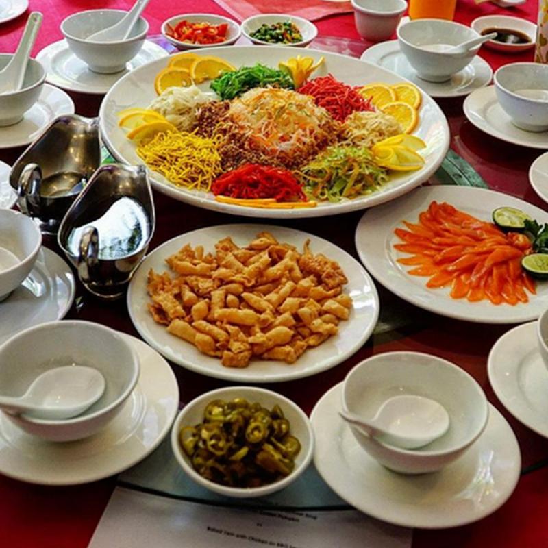 Promosi Yee Sang Sempena CNY di Seri Pacific Hotel Kuala Lumpur.