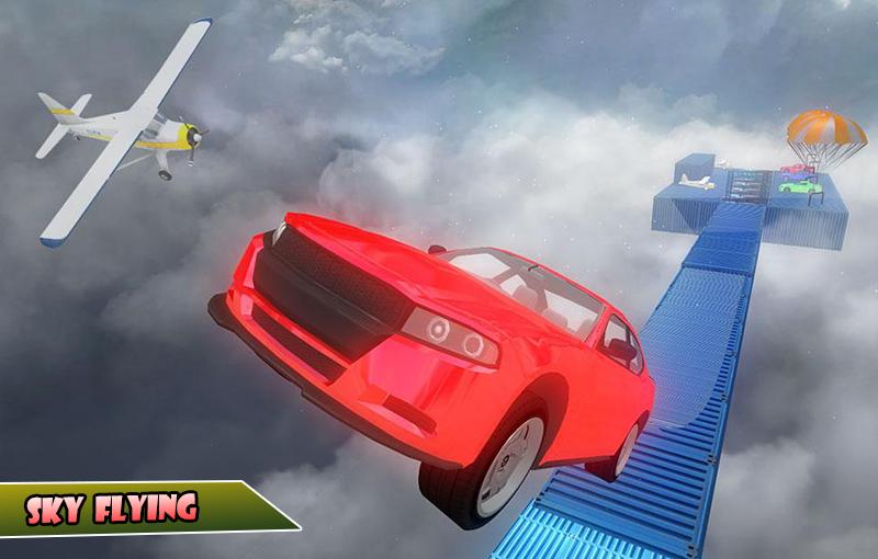 Скриншот Невозможные треки автомобильные трюки 3d