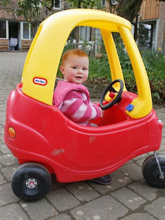 The ever popular Little Tikes car
