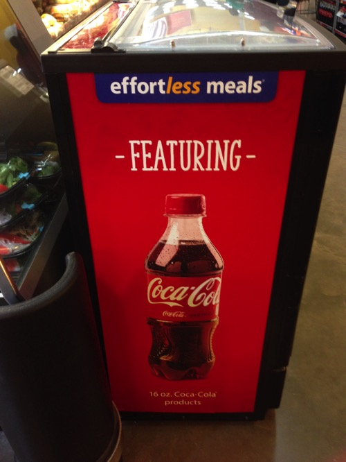 Coca Cola Effortless meals at Walmart.