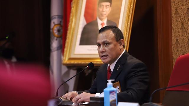 Pidato Firli Bahuri di Pelantikan Pegawai KPK: Jangan Terpengaruh Kekuasaan, Indonesia Harus Bebas Korupsi!