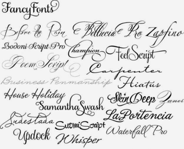 script tattoo fonts on Pinterest  43 Pins