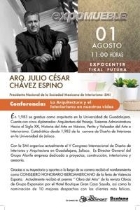 ExpoMueble 2012,  Conferencista Internacional