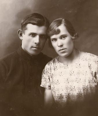 Александр Грибов с Шурой Сперанской.(из личного архива Арно Пяристе)