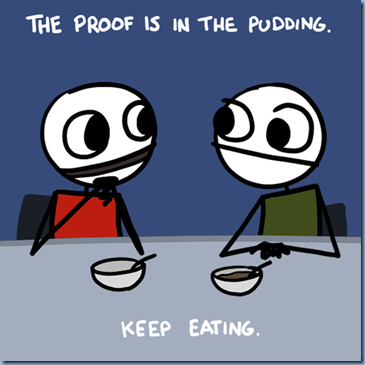 theproofisinthepudding