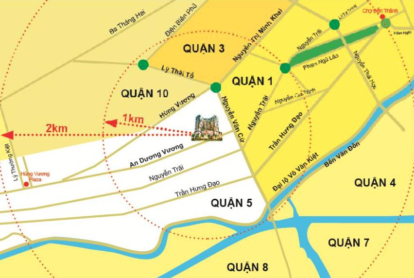 Dự án The EverRich Infinity: 290 An Dương Vương, Phường 9, Quận 5, TP.HCM