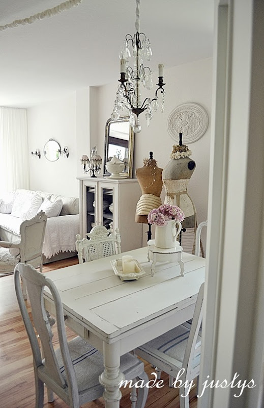 shabby and charme shabby chic a brema a casa di justys. Black Bedroom Furniture Sets. Home Design Ideas