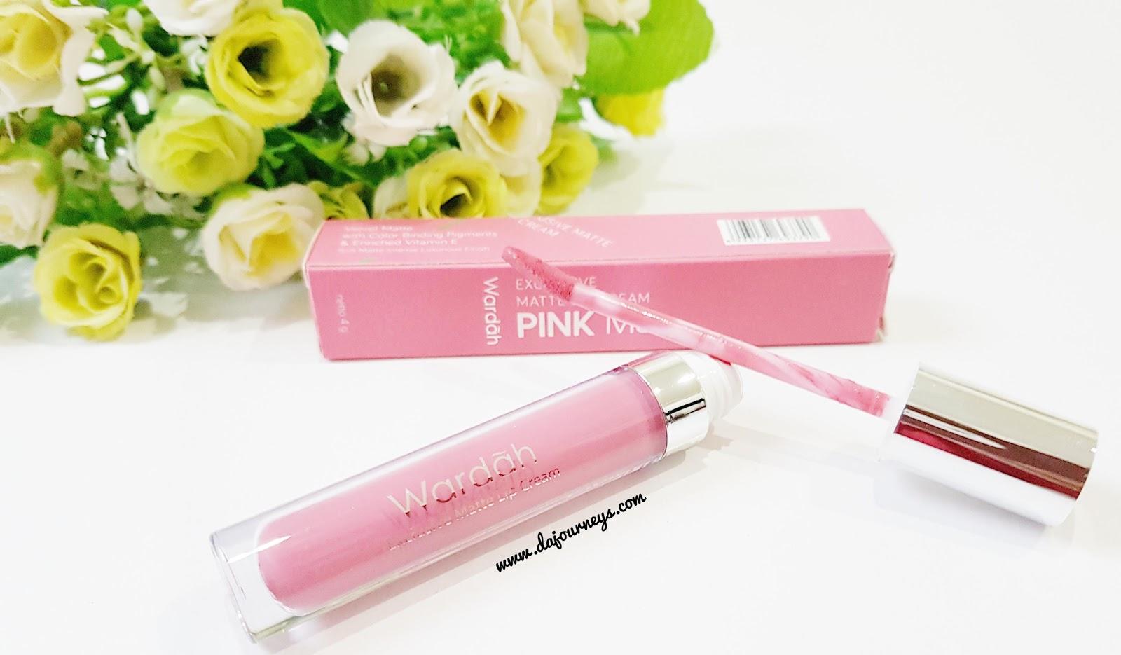 Wardah Exclusive Matte Lip Creamno 04 Pink Me Page 2 Daftar Lipstick Cream Ini Berbentuk Tube Tabung Plastik Transparant Dengan