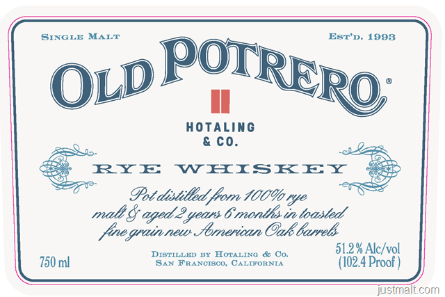 Anchor Distilling - Old Potrero Rye Whiskey