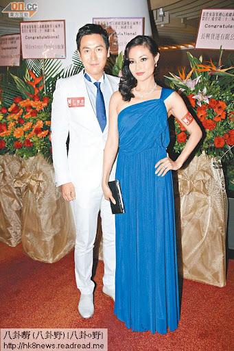 馬德鐘與太太張筱蘭經常拍拖出席活動。