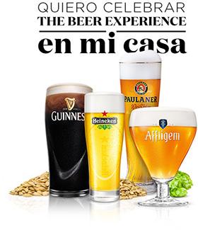 The Beer Experience, catas de cerveza gratuitas en tu domicilio