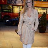 WWW.ENTSIMAGES.COM -    Amy Willerton arriving at          Wear it for Autism - charity catwalk show at Millennium Hotel London Knightsbridge, London October 6th 2014Charity fashion show to celebrate families and individuals affected by autism.                                              Photo Mobis Photos/OIC 0203 174 1069