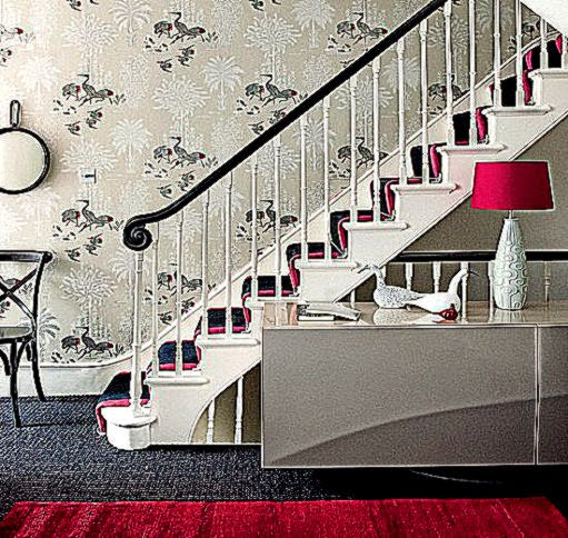 Make a statement  10 wallpaper ideas for hallways  housetohome