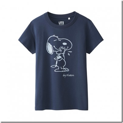 Uniqlo UT WOMEN Peanuts Short Sleeve Graphic T-Shirt 02