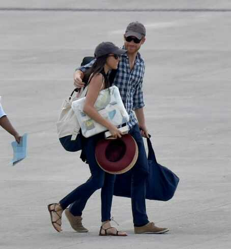 Prince Harry jets Meghan Markle to Africa for her 36th birthday(Photos)