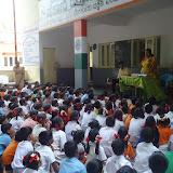 School Kit Distribution at Government school- Chikkalsandra- 20th June 2015