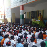 School Kit Distribution at Government school- Chikkalsandra- 20th June 2015