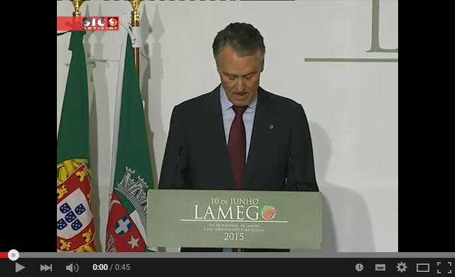 Reportagem SIC - PR aproveita visita a Lamego para apelar ao investimento no interior