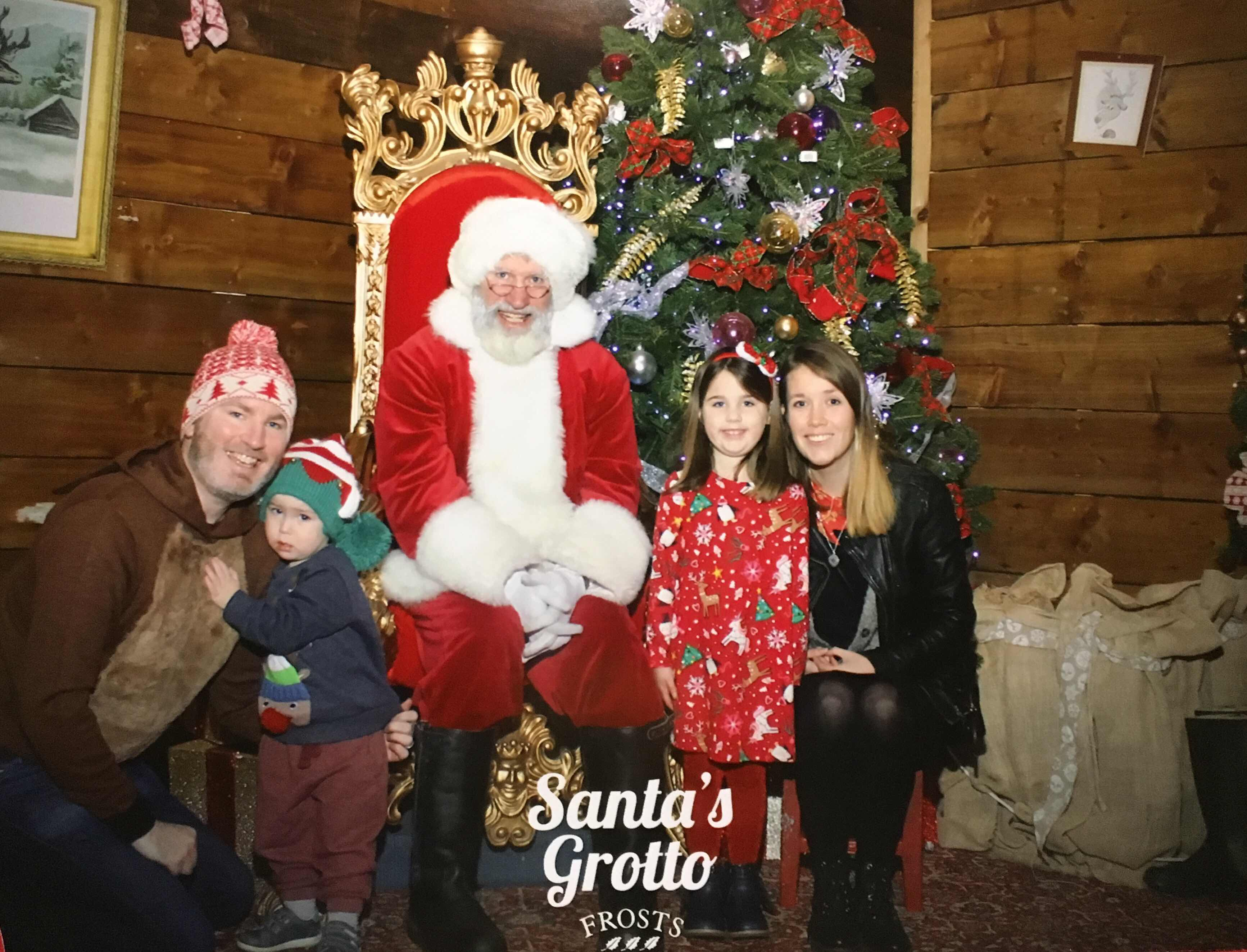 Photo with Father Christmas