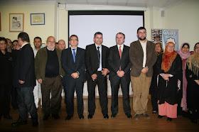 El Conseller de Justicia  y Bienestar Social, junto al Secretario Autonómico de Familia y Ciudadania visitan el FAICE y el Centro Cultural Islámico de Valencia (CCIV).