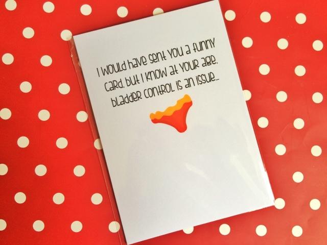Birds eye view of Love Layla Designs birthday card