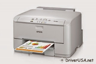 download Epson WorkForce Pro WP-4090 Network Color Printer with PCL printer's driver