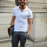 WWW.ENTSIMAGES.COM -   Mark Heyes  leaving    The Design Collective for Evans at The Freemasons Hall, LondonSeptember 16th 2014Show hosted by Arcadia Group owner Sir Philip Green as plus size retailer Evans makes its debut on the London Fashion Week schedule.                                                   Photo Mobis Photos/OIC 0203 174 1069