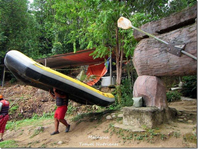 馬來西亞沙巴 九如河泛舟 溜索 (6)
