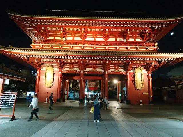 Travelling ke Tokyo di Asakusa