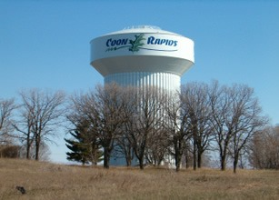 Coon Rapids, MN water tower - the first town I lived in