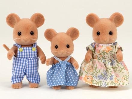 Gia đình nhà chuột Mouse Family Epoch